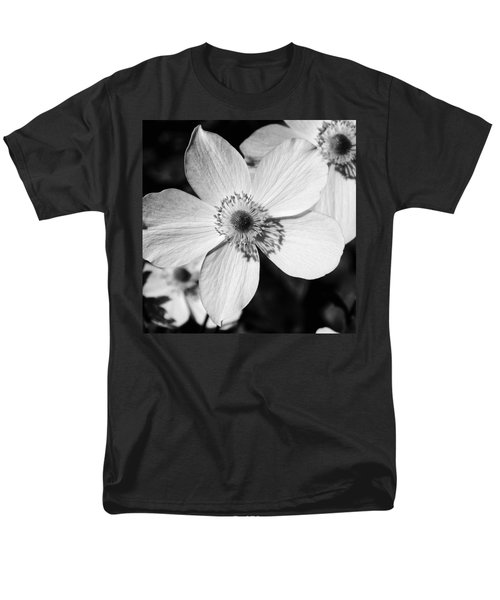 Men's T-Shirt  (Regular Fit) featuring the photograph Simply Black And White by Karen Stahlros