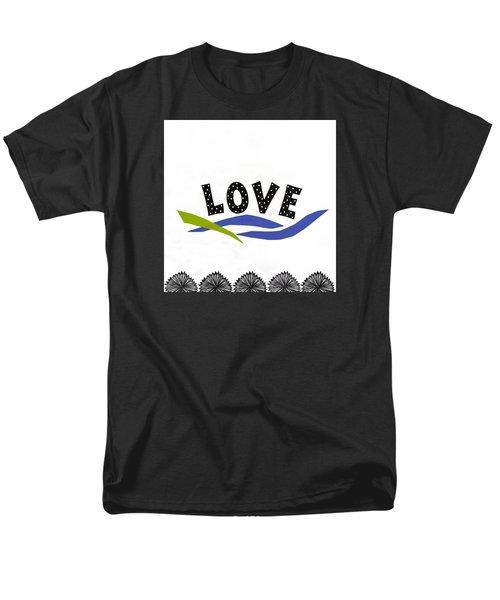 Simply Love Men's T-Shirt  (Regular Fit) by Gloria Rothrock