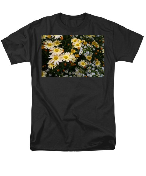 Men's T-Shirt  (Regular Fit) featuring the photograph Single Chrysanthemums by Kathryn Meyer