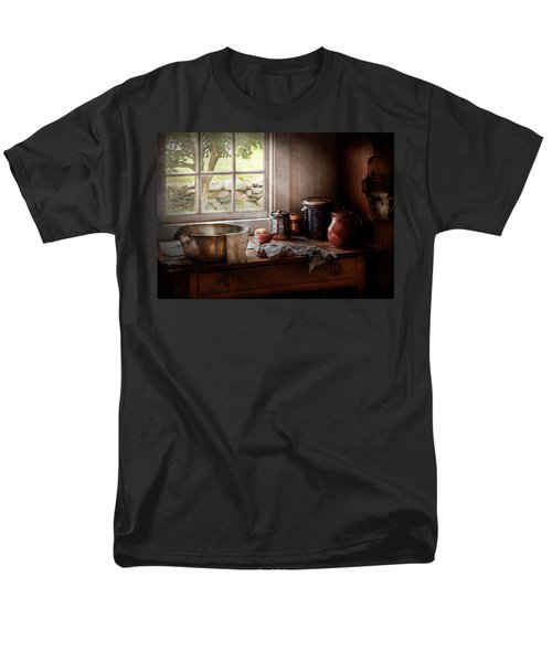 Sink - The morning chores T-Shirt by Mike Savad