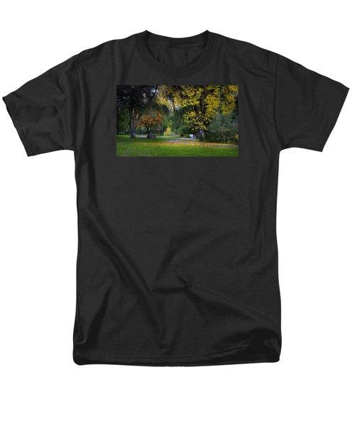 Skaha Lake Park Men's T-Shirt  (Regular Fit) by John Poon