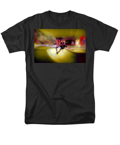 Men's T-Shirt  (Regular Fit) featuring the photograph Skateboarding by Lori Seaman
