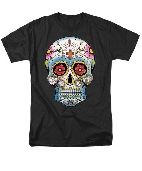 Skull 10 Men's T-Shirt  (Regular Fit) by Mark Ashkenazi