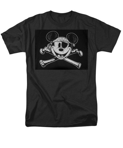 Skull And Bones Mickey  Men's T-Shirt  (Regular Fit) by Rob Hans