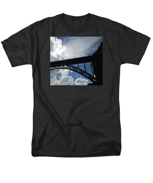 Sky Bridge Men's T-Shirt  (Regular Fit) by Jeff Gater
