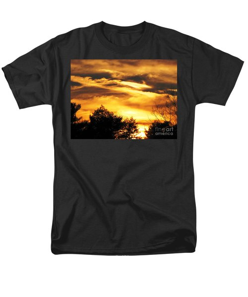 Men's T-Shirt  (Regular Fit) featuring the photograph Sky Study 7 3/11/16 by Melissa Stoudt