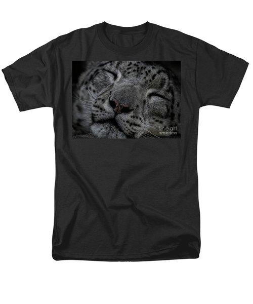 Sleepy Cat Men's T-Shirt  (Regular Fit) by Brad Allen Fine Art