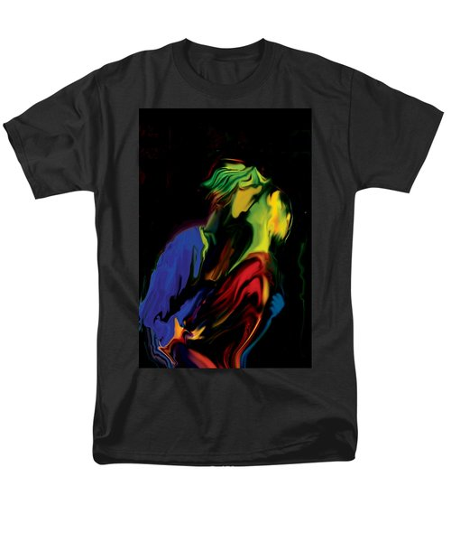 Men's T-Shirt  (Regular Fit) featuring the digital art Slow Dance by Rabi Khan