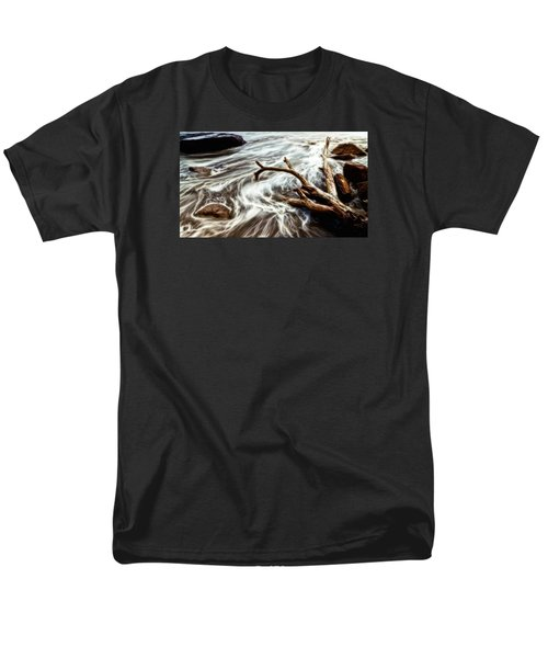 Men's T-Shirt  (Regular Fit) featuring the photograph Slow Motion Sea by Cameron Wood