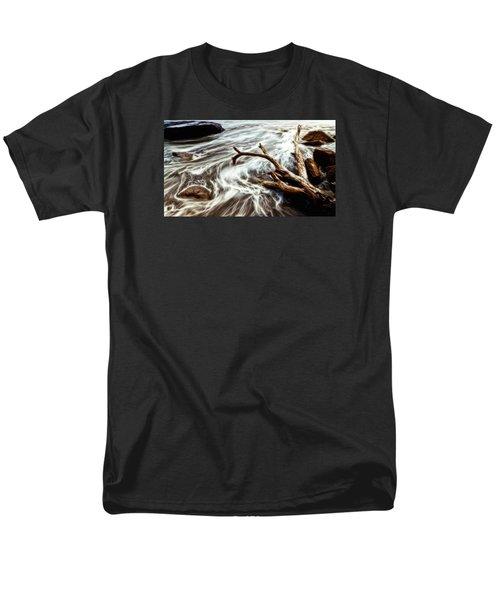 Slow Motion Sea Men's T-Shirt  (Regular Fit) by Cameron Wood