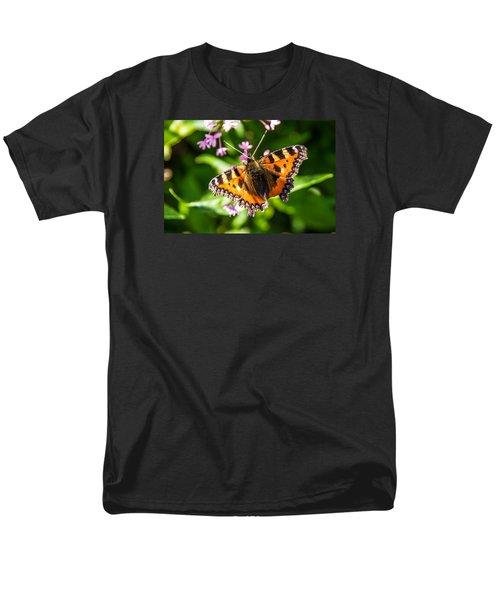 Small Tortoiseshell Men's T-Shirt  (Regular Fit) by Martina Fagan