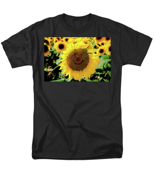 Men's T-Shirt  (Regular Fit) featuring the photograph Smile by Greg Fortier