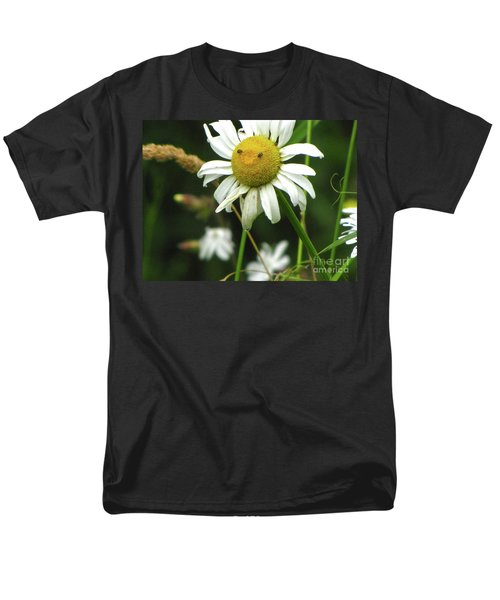 Smiley Face Ox-nose Daisy Men's T-Shirt  (Regular Fit)