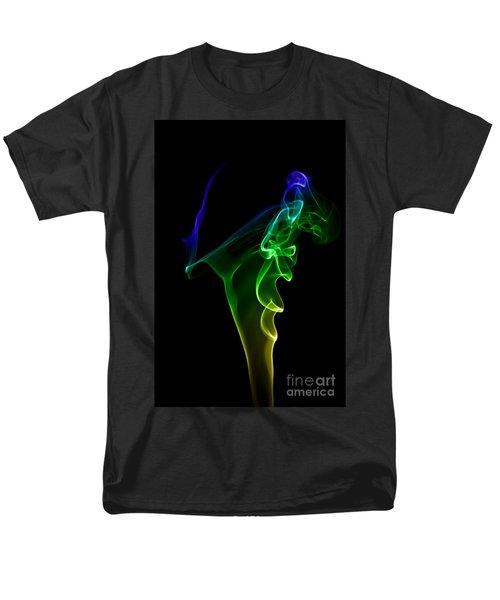 smoke XIV Men's T-Shirt  (Regular Fit) by Joerg Lingnau