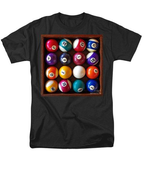 Snooker Balls Men's T-Shirt  (Regular Fit) by Carlos Caetano
