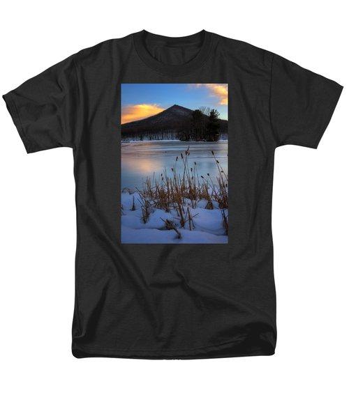 Snow At The Peaks Men's T-Shirt  (Regular Fit) by Steve Hurt
