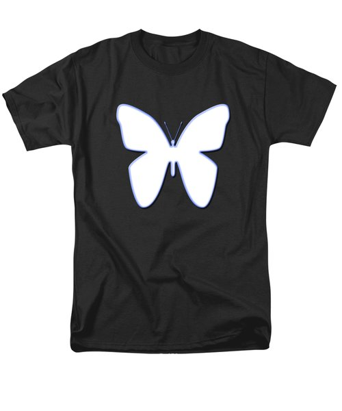 Snow Butterfly Men's T-Shirt  (Regular Fit) by Bill Owen