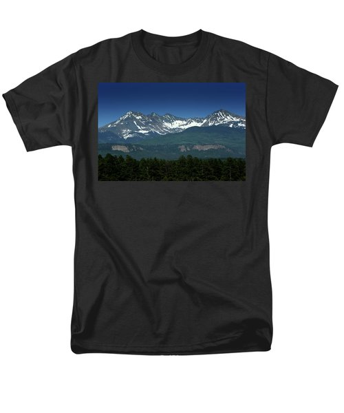 Snow Capped Mountains Men's T-Shirt  (Regular Fit)