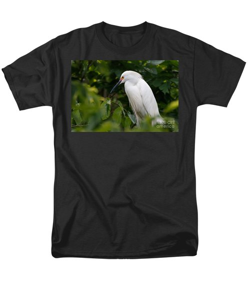 Snowy Egret Men's T-Shirt  (Regular Fit)