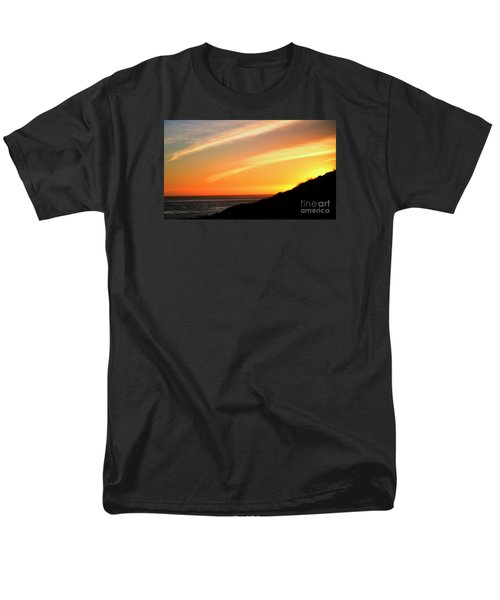 Men's T-Shirt  (Regular Fit) featuring the photograph Socal Sunet by Clayton Bruster