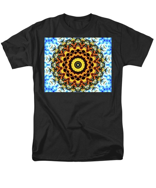 Men's T-Shirt  (Regular Fit) featuring the digital art Solar Flare 2 by Wendy J St Christopher