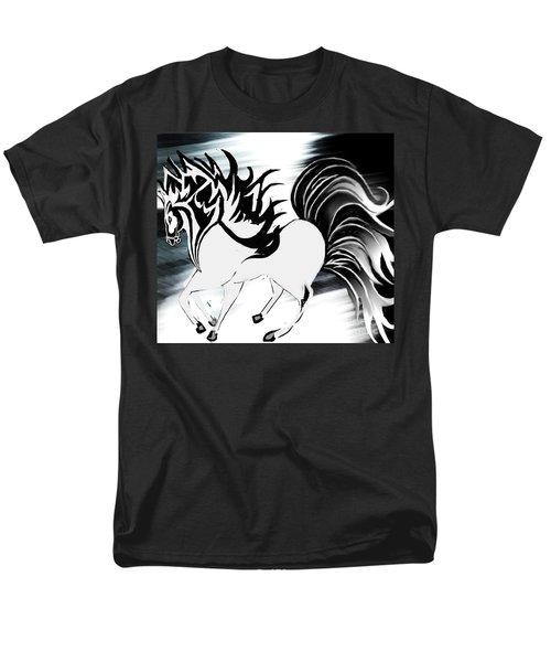 Soldier Horse Men's T-Shirt  (Regular Fit) by Belinda Threeths
