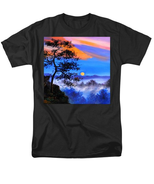 Men's T-Shirt  (Regular Fit) featuring the painting Solitude by Karen Showell