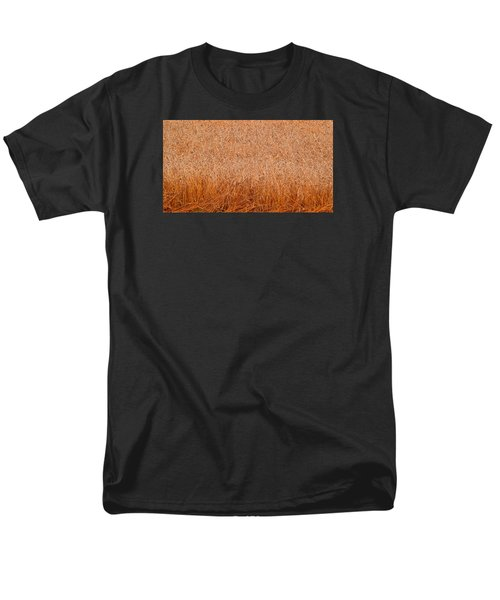 Men's T-Shirt  (Regular Fit) featuring the photograph Some Grain Cut 2  by Lyle Crump