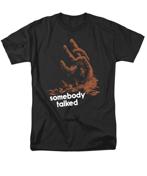 Men's T-Shirt  (Regular Fit) featuring the painting Somebody Talked - Ww2 by War Is Hell Store