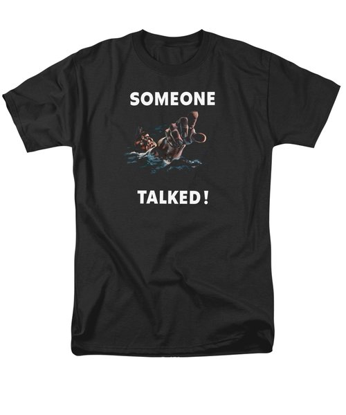 Someone Talked -- Ww2 Propaganda Men's T-Shirt  (Regular Fit) by War Is Hell Store