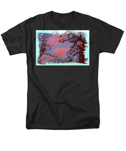 Men's T-Shirt  (Regular Fit) featuring the photograph Sometimes Quiet La Vernia Is Wild by Carolina Liechtenstein