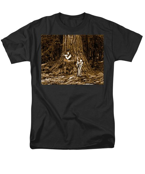 Men's T-Shirt  (Regular Fit) featuring the photograph Songs In The Woods 2 by Ben Upham