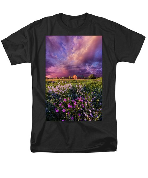 Songs Of Days Gone By Men's T-Shirt  (Regular Fit) by Phil Koch