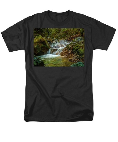 Men's T-Shirt  (Regular Fit) featuring the photograph Sonoma Valley Creek by Bill Gallagher
