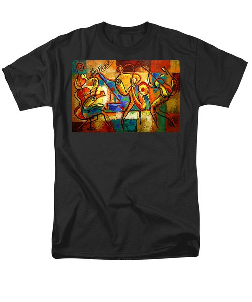 Soul Jazz Men's T-Shirt  (Regular Fit) by Leon Zernitsky