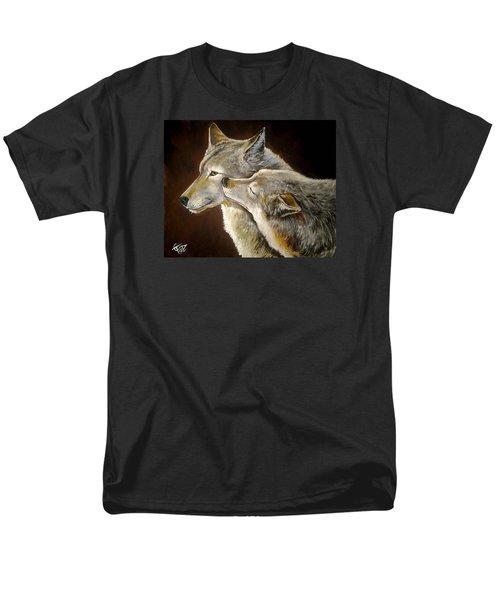 Soul Mates Men's T-Shirt  (Regular Fit) by Tom Carlton