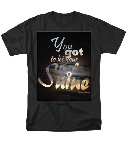 Soul Shine Men's T-Shirt  (Regular Fit) by Thomasina Durkay