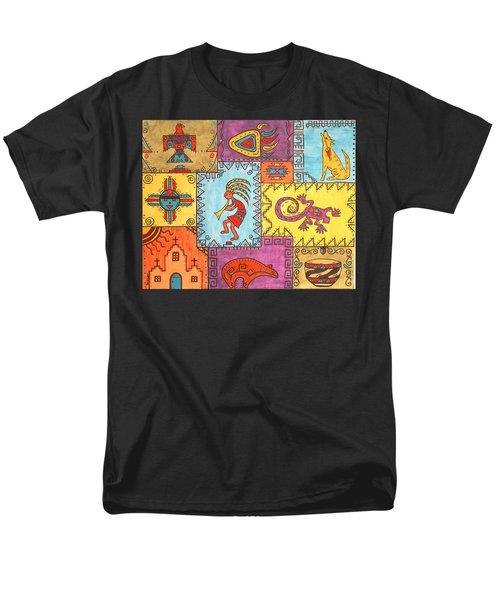 Southwest Sampler Men's T-Shirt  (Regular Fit) by Susie WEBER
