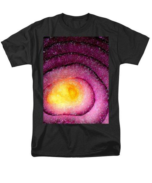 Space Allium Men's T-Shirt  (Regular Fit) by Danielle R T Haney