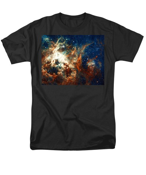 Space Fire Men's T-Shirt  (Regular Fit) by Jennifer Rondinelli Reilly - Fine Art Photography