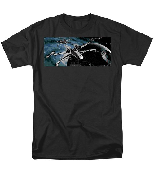 Space Men's T-Shirt  (Regular Fit) by George Pedro