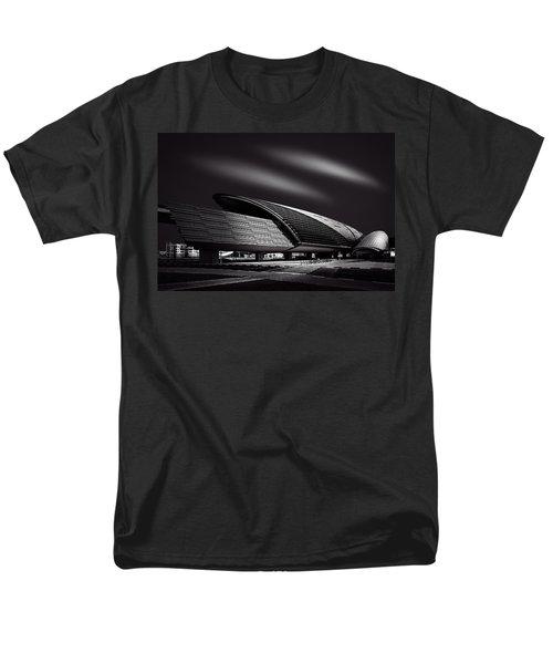 Dubai Metro Station Mono Men's T-Shirt  (Regular Fit) by Ian Good