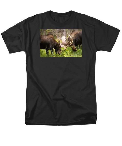 Men's T-Shirt  (Regular Fit) featuring the photograph Sparring  by Aaron Whittemore