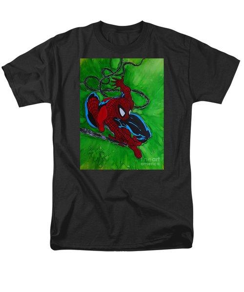 Spiderman 301 Illustration Edition Men's T-Shirt  (Regular Fit) by Justin Moore