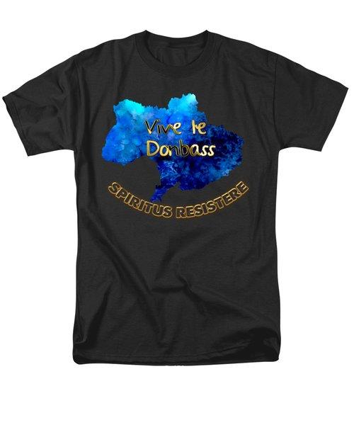 Spirit Of Resistance Men's T-Shirt  (Regular Fit) by Elaine Ossipov