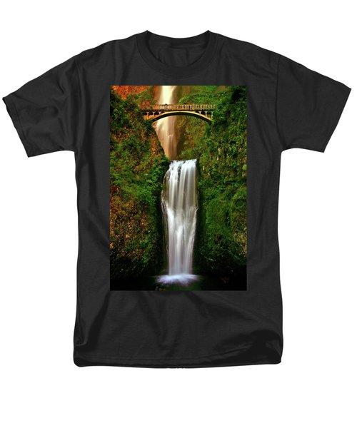 Spiritual Falls Men's T-Shirt  (Regular Fit) by Scott Mahon