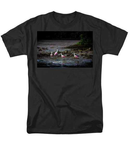 Spooning Party Men's T-Shirt  (Regular Fit) by Marvin Spates