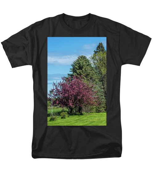 Men's T-Shirt  (Regular Fit) featuring the photograph Spring Blossoms by Paul Freidlund