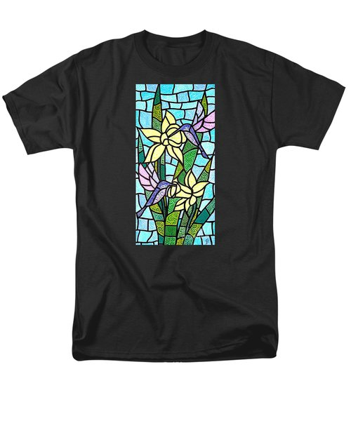Men's T-Shirt  (Regular Fit) featuring the painting Spring Fling by Jim Harris