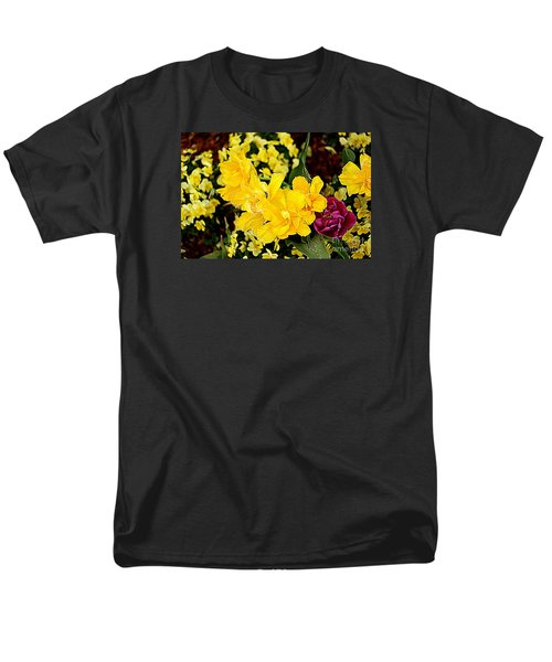 Men's T-Shirt  (Regular Fit) featuring the photograph Spring In Dallas by Diana Mary Sharpton